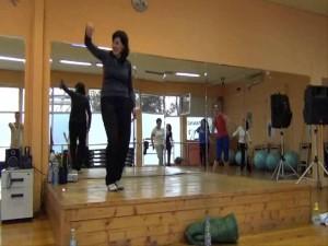 Моменти от тренировката по пластика и гръбнака